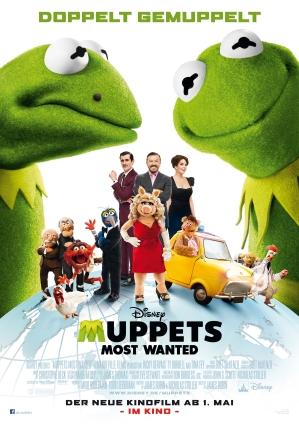 Tysk poster för Muppets Most Wanted
